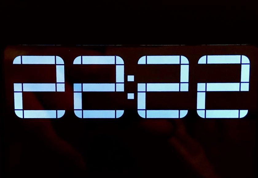 clock 22:22